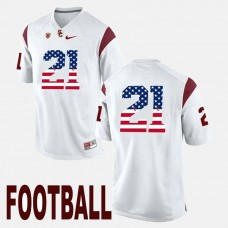 USC Trojans #21 Adoree' Jackson White College Football Jersey