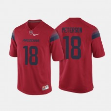 Arizona Wildcats #18 Cedric Peterson Red College Football Jersey