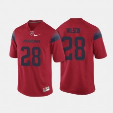 Arizona Wildcats #28 Nick Wilson Red College Football Jersey