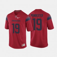 Arizona Wildcats #19 Shawn Poindexter Red College Football Jersey