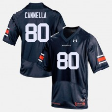Auburn Tigers #80 Sal Cannella Navy College Football Jersey