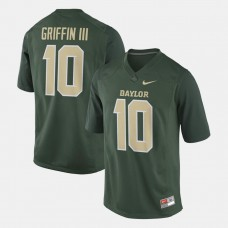 Baylor Bears #10 Robert Griffin III Green College Football GAME Jersey