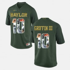 Baylor Bears #10 Robert Griffin III Green College Football Jersey