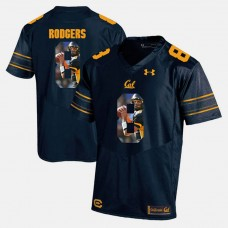 California Golden Bears #8 Aaron Rodgers Navy Blue College Football Jersey