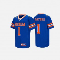 Florida Gators #1 Royal Blue College Football Jersey