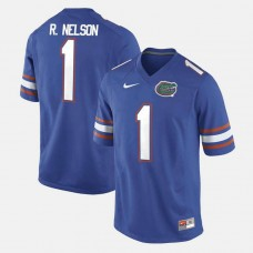 Florida Gators #1 Reggie Nelson Royal Blue College Football GAME Jersey