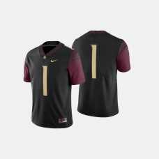 Florida State Seminoles #1 Black College Football Jersey