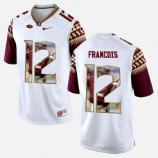 Florida State Seminoles #12 Deondre Francois White College Football Jersey