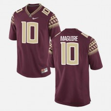 Florida State Seminoles #10 Sean Maguire Garnet College Football GAME Jersey