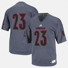 Louisville Cardinals #23 Black College Football Jersey