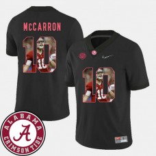 Alabama Crimson Tide #10 AJ McCarron Black College Football Jersey