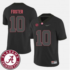 Alabama Crimson Tide #10 Reuben Foster Black College Football Jersey