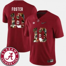Alabama Crimson Tide #10 Reuben Foster Crimson College Football Jersey