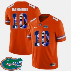 Florida Gators #10 Josh Hammond Orange College Football Jersey