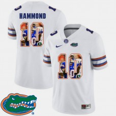 Florida Gators #10 Josh Hammond White College Football Jersey