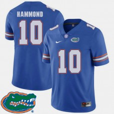 Florida Gators #10 Josh Hammond Royal College Football Jersey