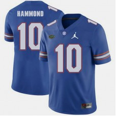 Florida Gators #10 Josh Hammond Royal College Football GAME Jersey