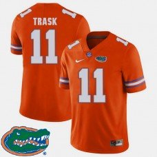 Florida Gators #11 Kyle Trask Orange College Football Jersey