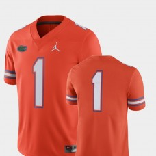 Florida Gators #1 Orange College Football GAME Jersey