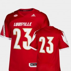 Louisville Cardinals #23 Red College Football Jersey