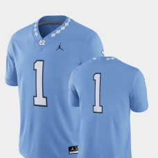North Carolina Tar Heels #1 Carolina Blue College Football GAME Jersey