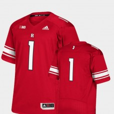Rutgers Scarlet Knights #1 Scarlet College Football Jersey