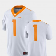 Tennessee Volunteers #1 White College Football GAME Jersey