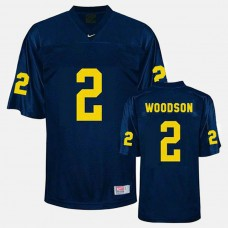 Michigan Wolverines #2 Charles Woodson Blue College Football Jersey