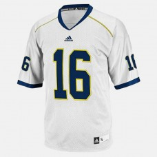 Michigan Wolverines #16 Denard Robinson White College Football Jersey