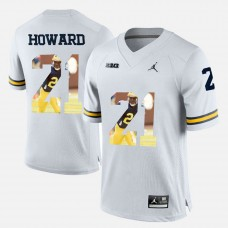 Michigan Wolverines #21 Desmond Howard White College Football Jersey