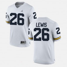 Michigan Wolverines #26 Jourdan Lewis White College Football GAME Jersey