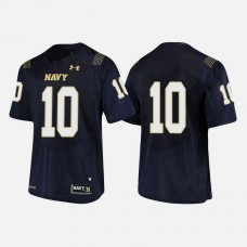 Navy Midshipmen #10 Malcolm Perry Navy College Football Jersey