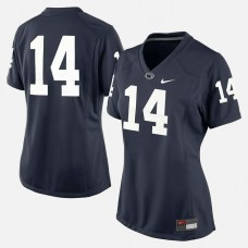 WOMEN - Penn State Nittany Lions #14 Navy Blue College Football Jersey