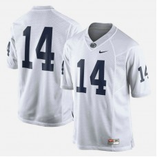 Penn State Nittany Lions #14 White College Football Jersey