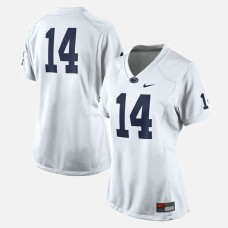 WOMEN - Penn State Nittany Lions #14 White College Football Jersey