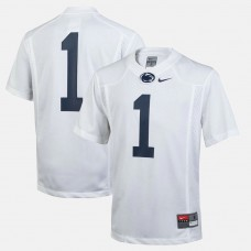 YOUTH - Penn State Nittany Lions #1 White College Football Jersey