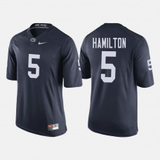 Penn State Nittany Lions #5 DaeSean Hamilton Navy College Football Jersey