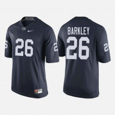 Penn State Nittany Lions #26 Saquon Barkley Navy College Football Jersey