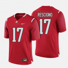 Rutgers Scarlet Knights #17 Giovanni Rescigno Red College Football Jersey