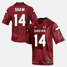 South Carolina Gamecocks #14 Connor Shaw Red College Football Jersey