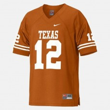 Texas Longhorns #12 Colt McCoy Orange College Football Jersey