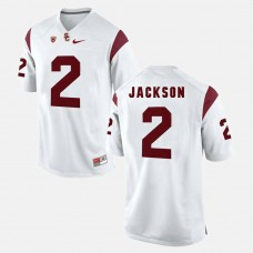 USC Trojans #2 Adoree' Jackson White College Football GAME Jersey