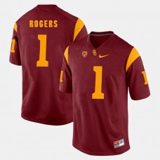 USC Trojans #1 Darreus Rogers Red College Football GAME Jersey