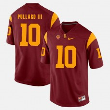 USC Trojans #10 Hayes Pullard III Red College Football GAME Jersey