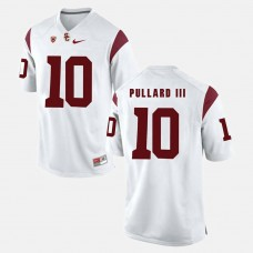 USC Trojans #10 Hayes Pullard III White College Football GAME Jersey
