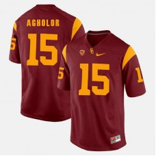USC Trojans #15 Nelson Agholor Red College Football GAME Jersey